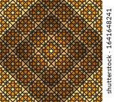 arabic geometric ornament.... | Shutterstock . vector #1641648241