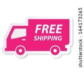 free shipping icon.jpg | Shutterstock . vector #164173265