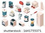 kitchen appliance set ... | Shutterstock .eps vector #1641755371