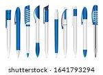 blue pen for applying corporate ...   Shutterstock .eps vector #1641793294