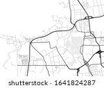 vector flat abstract city map ...   Shutterstock .eps vector #1641824287