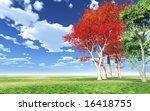 autumn landscape | Shutterstock . vector #16418755
