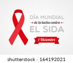 world aids day | Shutterstock .eps vector #164192021