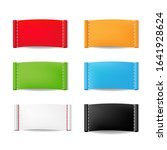 color clothing labels set...   Shutterstock . vector #1641928624