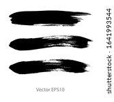 brush strokes watercolor...   Shutterstock .eps vector #1641993544