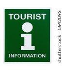 """Green """"tourist Information""""..."""