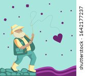 Old Fisherman Caught Heart By...