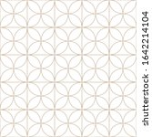 creative seamless geometric... | Shutterstock .eps vector #1642214104