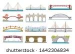 bridges architecture  vector... | Shutterstock .eps vector #1642306834