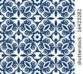 ornate baroque pattern | Shutterstock .eps vector #16423282
