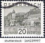 austria   circa 1929  a stamp... | Shutterstock . vector #164239997