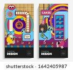 bright cartoon illustrations... | Shutterstock .eps vector #1642405987