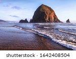 Haystack Rock At Cannon Beach ...