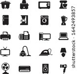 home electronics icon set  ... | Shutterstock .eps vector #1642493857