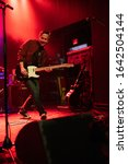 Small photo of Detroit, Michigan / USA - 02-08-2020: Verve Pipe performing live at Saint Andrews Hall