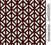 linocut style geometric... | Shutterstock .eps vector #1642512091