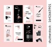 brow bar design templates.... | Shutterstock .eps vector #1642665901