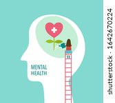 mental health concept vector... | Shutterstock .eps vector #1642670224
