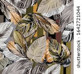 Printed Silk Scarf Design With...