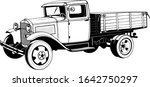 Vintage Truck With 1920s Body ...