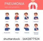character has pneumonia disease ... | Shutterstock .eps vector #1642877524