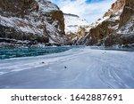Landscape Of Chadar  The Frozen ...