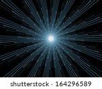 fractal burst series. creative... | Shutterstock . vector #164296589