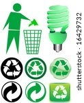 vector of various recycle... | Shutterstock .eps vector #16429732