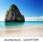 Beach In Krabi Province ...
