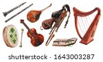 Irish Folk Music Instruments...