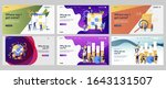 planning and strategy set.... | Shutterstock .eps vector #1643131507