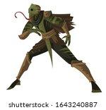 Ninja Lizard Chameleon Reptile...