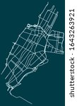 road map of jersey city  new...   Shutterstock .eps vector #1643263921