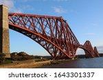 View Of The Forth Rail Bridge...
