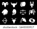 3d render horoscope of 12... | Shutterstock . vector #1643333917