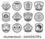 buddhism religion vector... | Shutterstock .eps vector #1643341591