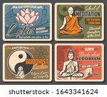 buddhism religion sacred lotus  ... | Shutterstock .eps vector #1643341624