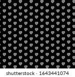 geometric seamless black white...   Shutterstock .eps vector #1643441074