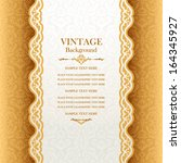 vintage background  antique... | Shutterstock .eps vector #164345927