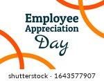 employee appreciation day...   Shutterstock .eps vector #1643577907