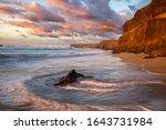 Beautiful Sunset At The Ocean...