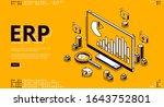 erp  enterprise resource...   Shutterstock .eps vector #1643752801