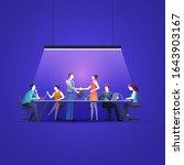 business concept vector...   Shutterstock .eps vector #1643903167