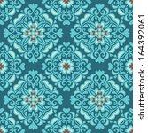 tiled ethnic seamless pattern | Shutterstock .eps vector #164392061