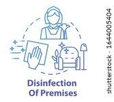 disinfection of premises... | Shutterstock .eps vector #1644005404