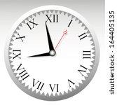 vintage clock face design | Shutterstock .eps vector #164405135