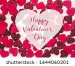 happy valentine's day  ...   Shutterstock . vector #1644060301