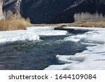 Baihe Gorge  Flowing Through...