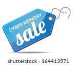 cyber monday sales tag. eps 10...   Shutterstock .eps vector #164413571