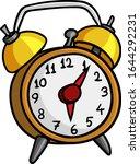Vector Clip Art Of An Alarm...